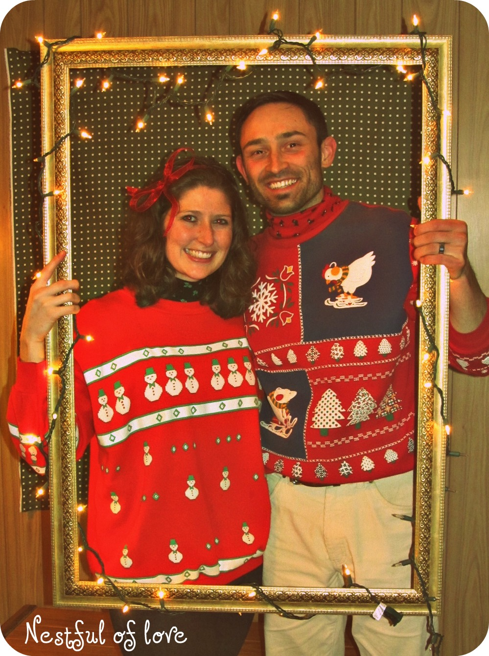 nestful of love tacky christmas sweater party