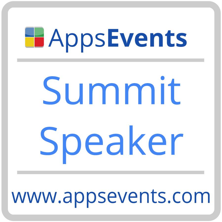 Apps Events Speaker