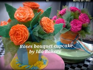 Kelas DIY Rose Bouquet RM300