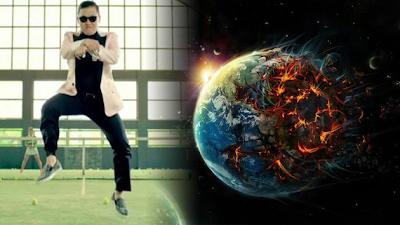 canción 'Gangnam Style' estaría supuestamente vinculada con el apocalipsis, anunciado por muchos para este 21 de diciembre de 2012