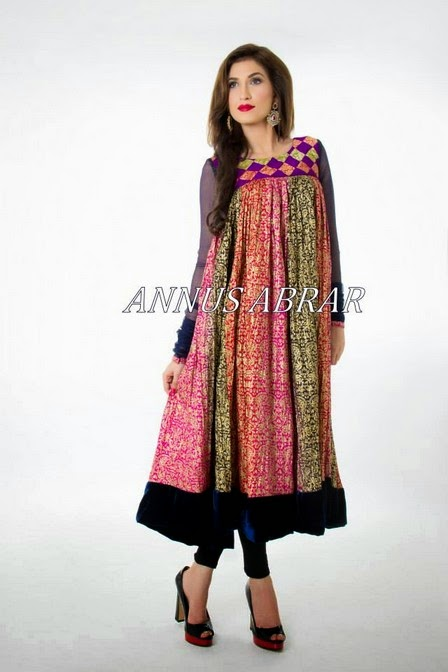 Pakistani Designer Clothes 2014 Facebook Latest Pakistani Eid Dresses
