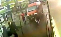 Two pedestrians killed by runaway van