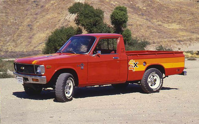 modifikasi mobil pick up chevrolet luv