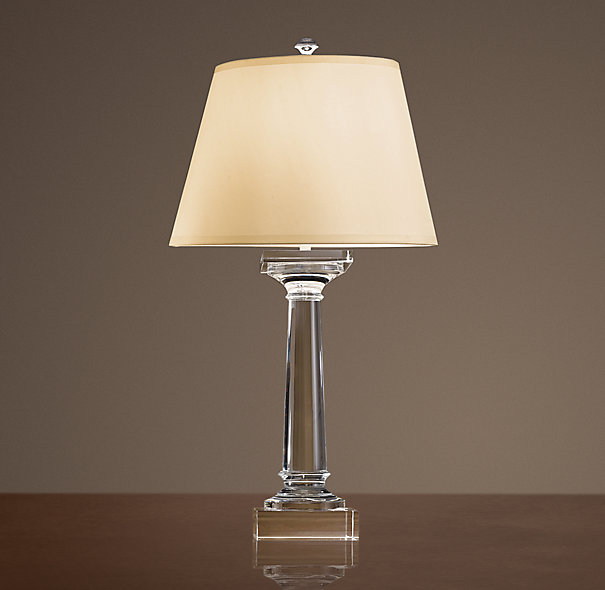 Copy cat chic restoration hardware saxon table lamp for When is restoration hardware lighting sale