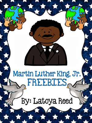 http://www.teacherspayteachers.com/Product/Martin-Luther-King-Jr-Freebies-461114