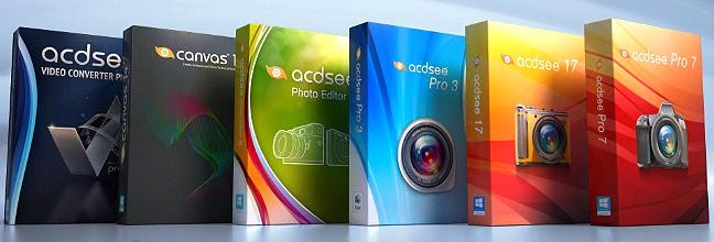 تحميل برنامج ACDsee pro7 للتعديل وعمل المونتاج على الصور مجانا
