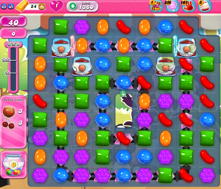 Candy Crush Saga 1360
