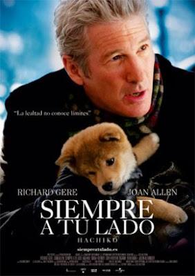 Siempre a tu lado Hachiko (DvdRip, Castellano, Familiar/Drama, 2009)