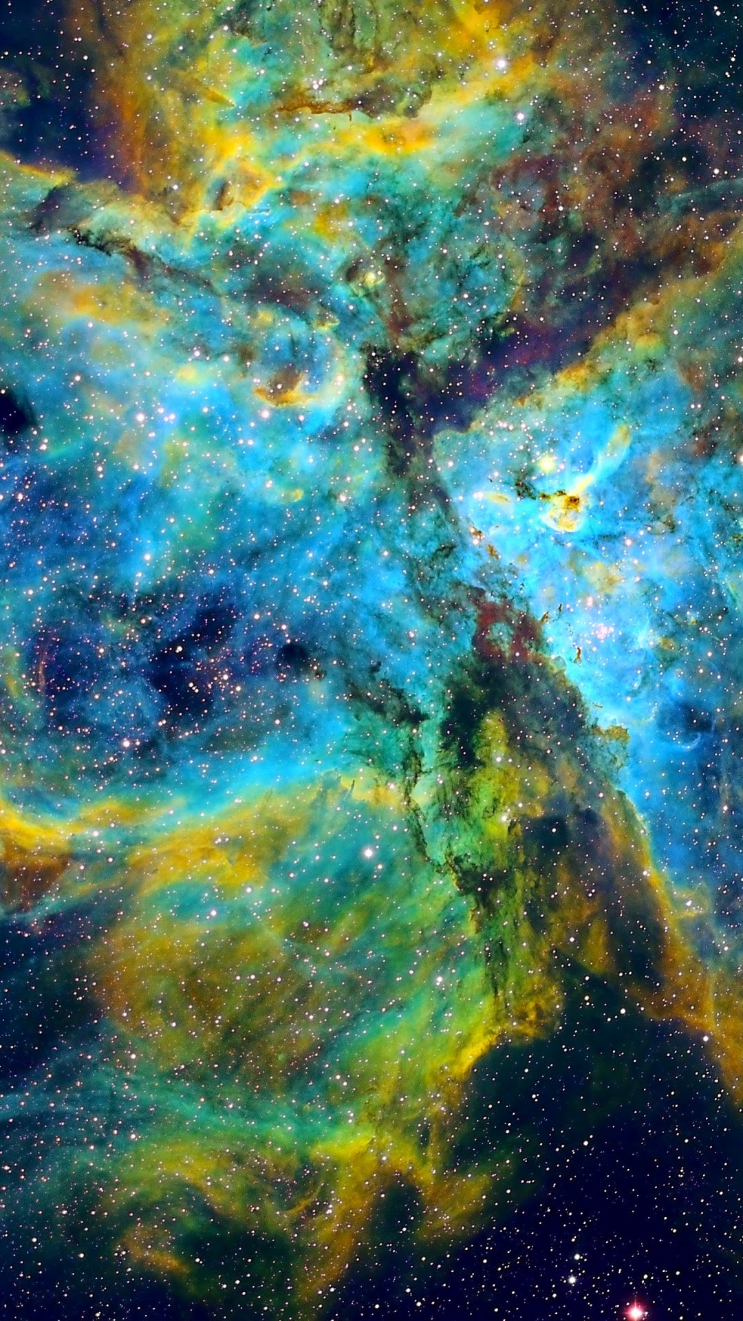 carina nebula space android wallpaper | (best andro wallpapers)