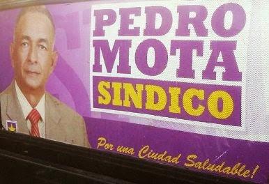 PEDRO MOTA SINDICO.