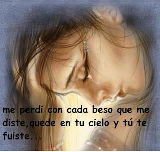 Imagen Me Pardi Con Cada Beso Que Me Diste (Imagenes para Facebook)
