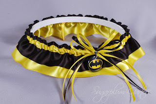batman wedding garter