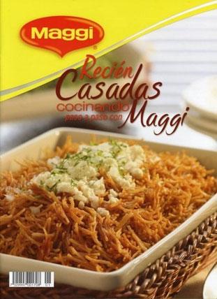 Cocinando paso a paso con Maggi. Recien casadas [PDF | Español | 2.15 MB]