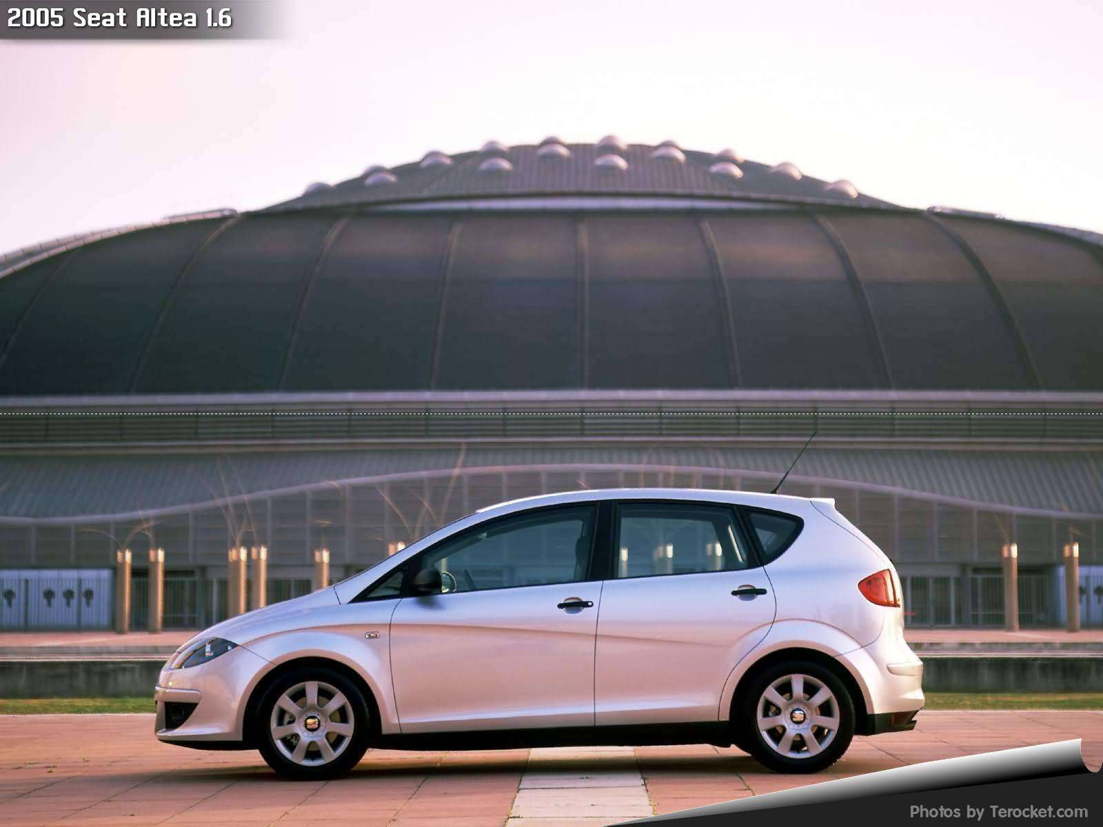 Hình ảnh xe ô tô Seat Altea 1.6 2005 & nội ngoại thất