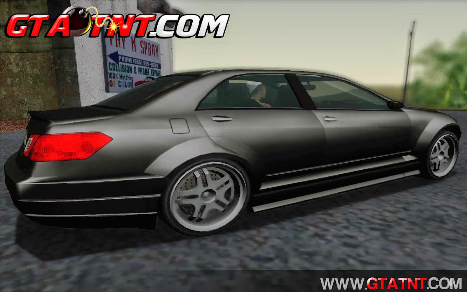 GTA SA - Schafter Bumper Convertido do GTA V para GTA San Andreas