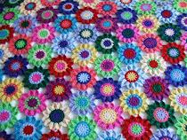 Blumentagesdecke/Flowerbedspread