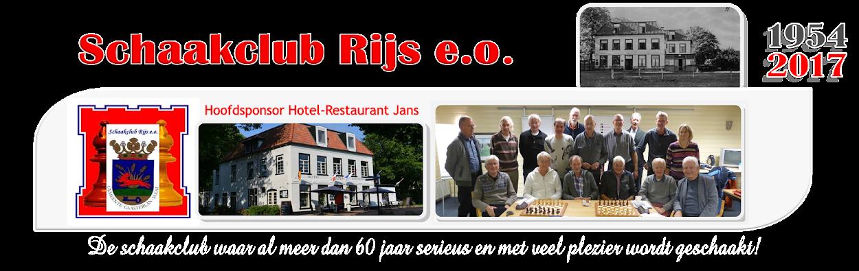 Schaakclub Rijs e.o.