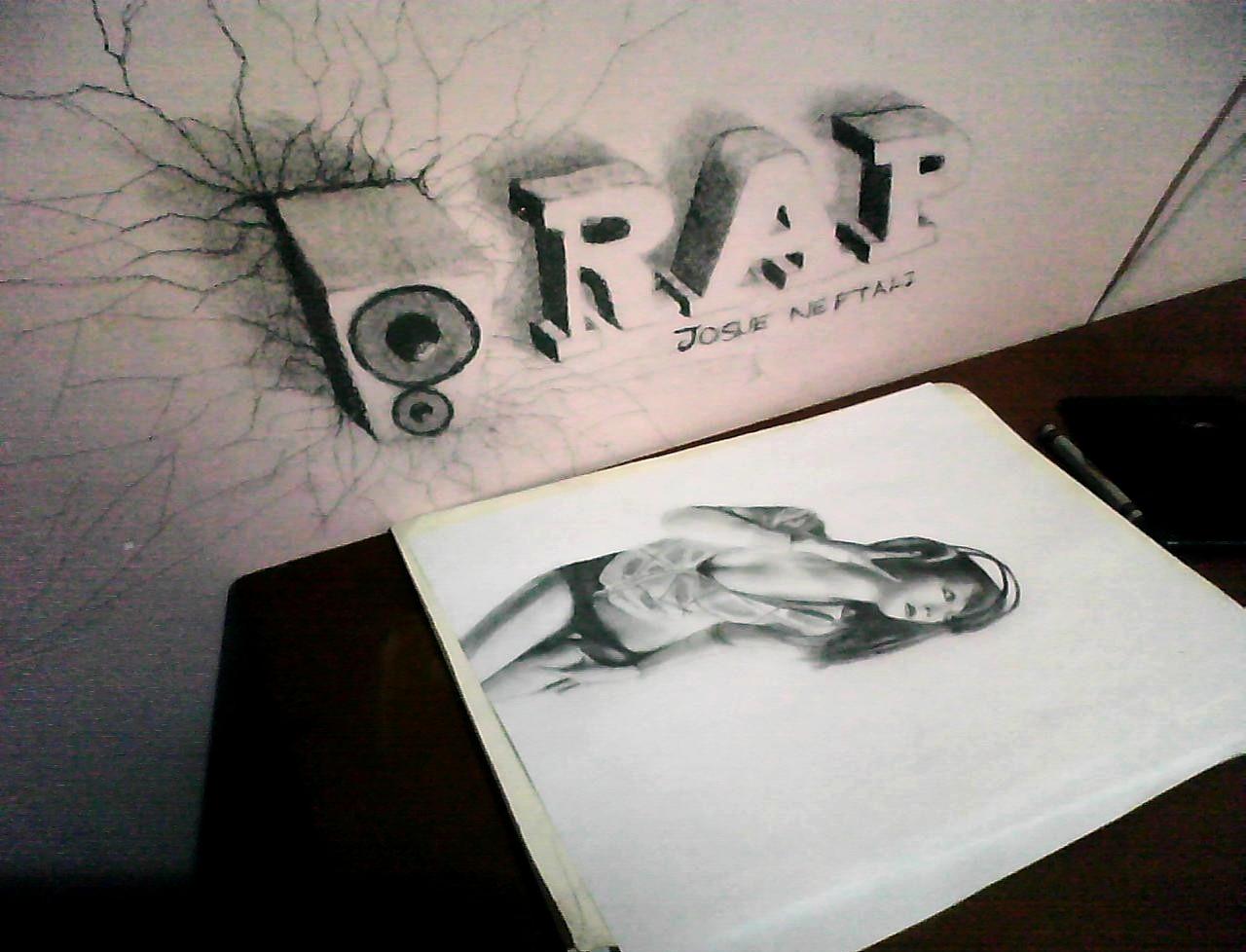 Dibujos 3D a lapiz, Arte anamórfico