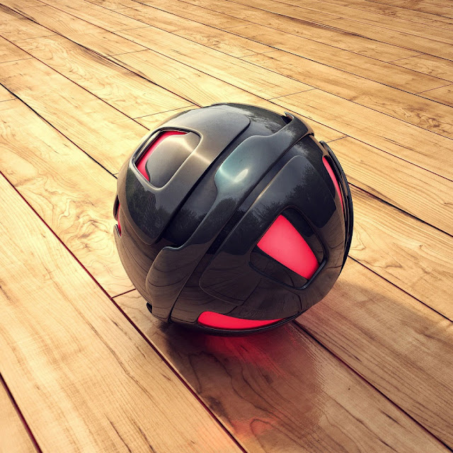iPad Wallpaper - 3D Sphere