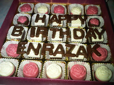 Happy Birtday Praline Choc