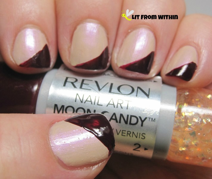 the deep wine color of Revlon Satellite
