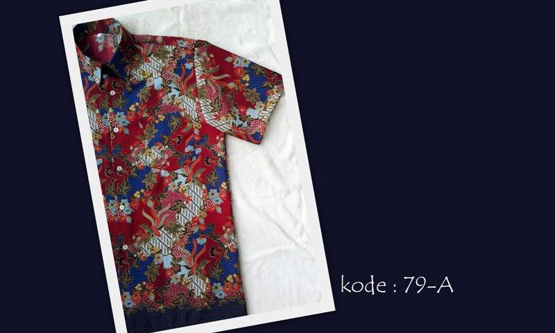 Kemeja Batik 79A  Toko Kemeja Batik Jogja Online  Hub  0856343