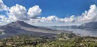 Penelokan Kintamani Lake Batur and Mount Batur view