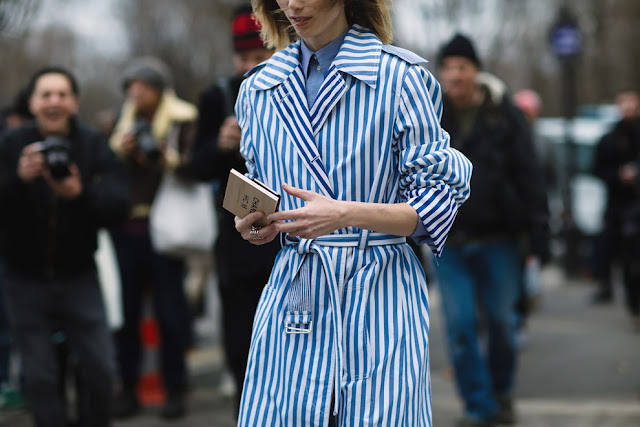 PFW Haute Couture SS 16 Street Style