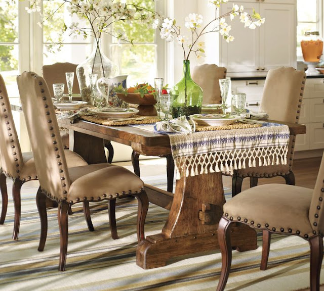 Pottery Barn Rustic Dining Table