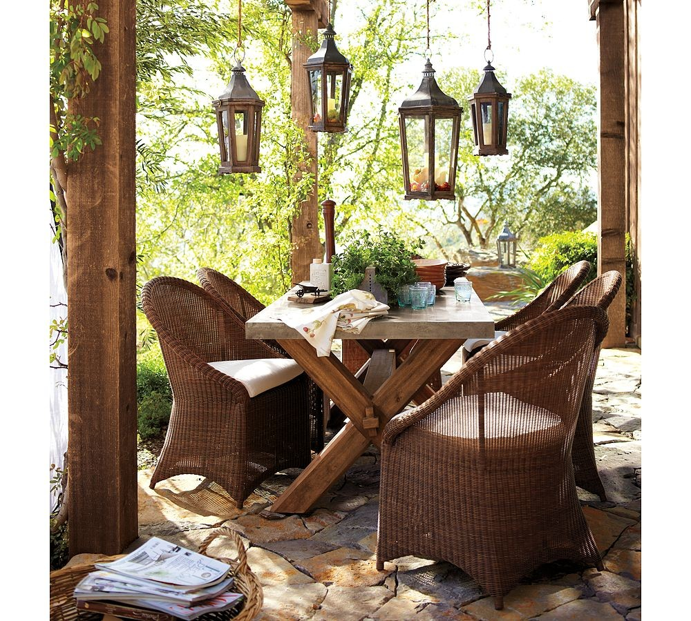 Outdoor Garden Furniture Designs by Pottery Barn