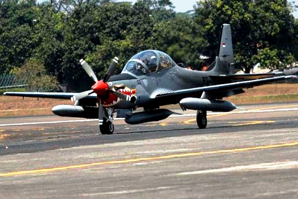 EMB-314 Super Tucano TNI-AU. PROKIMAL ONLINE Kotabumi Lampung Utara