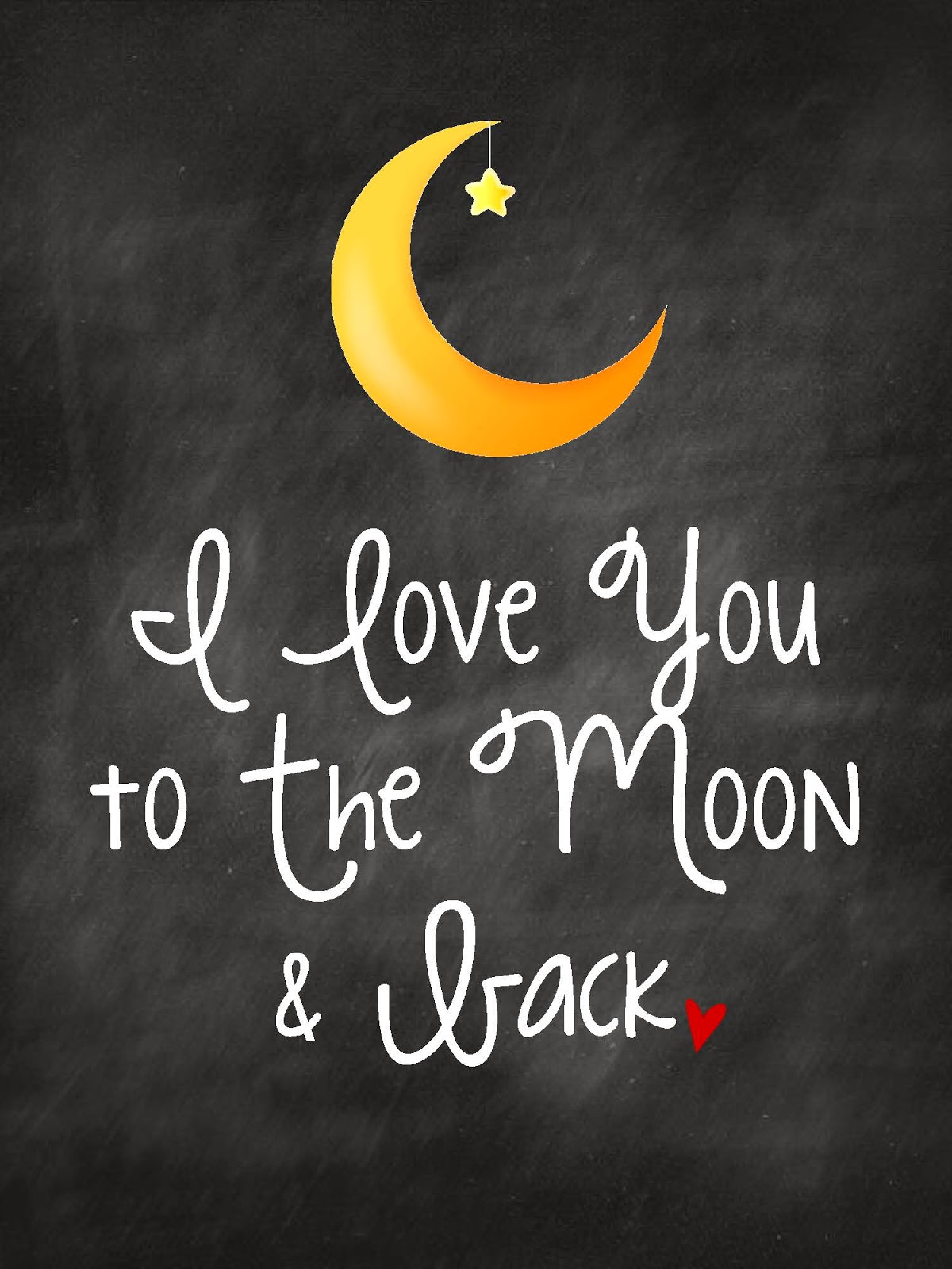Quote I Love You To The Moon And Back Love Quotes Moon And Back  Simply Montessori Celebrating The