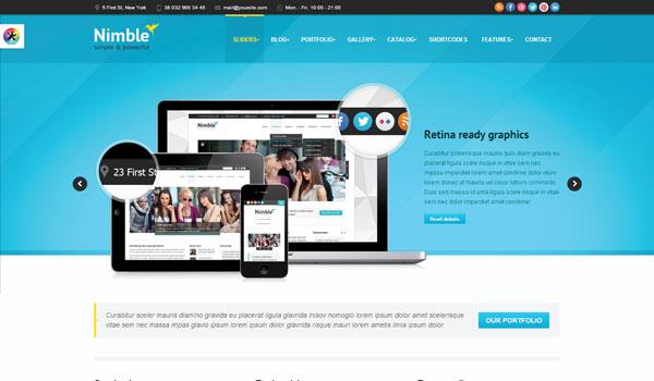 Nimble Wordpress Theme