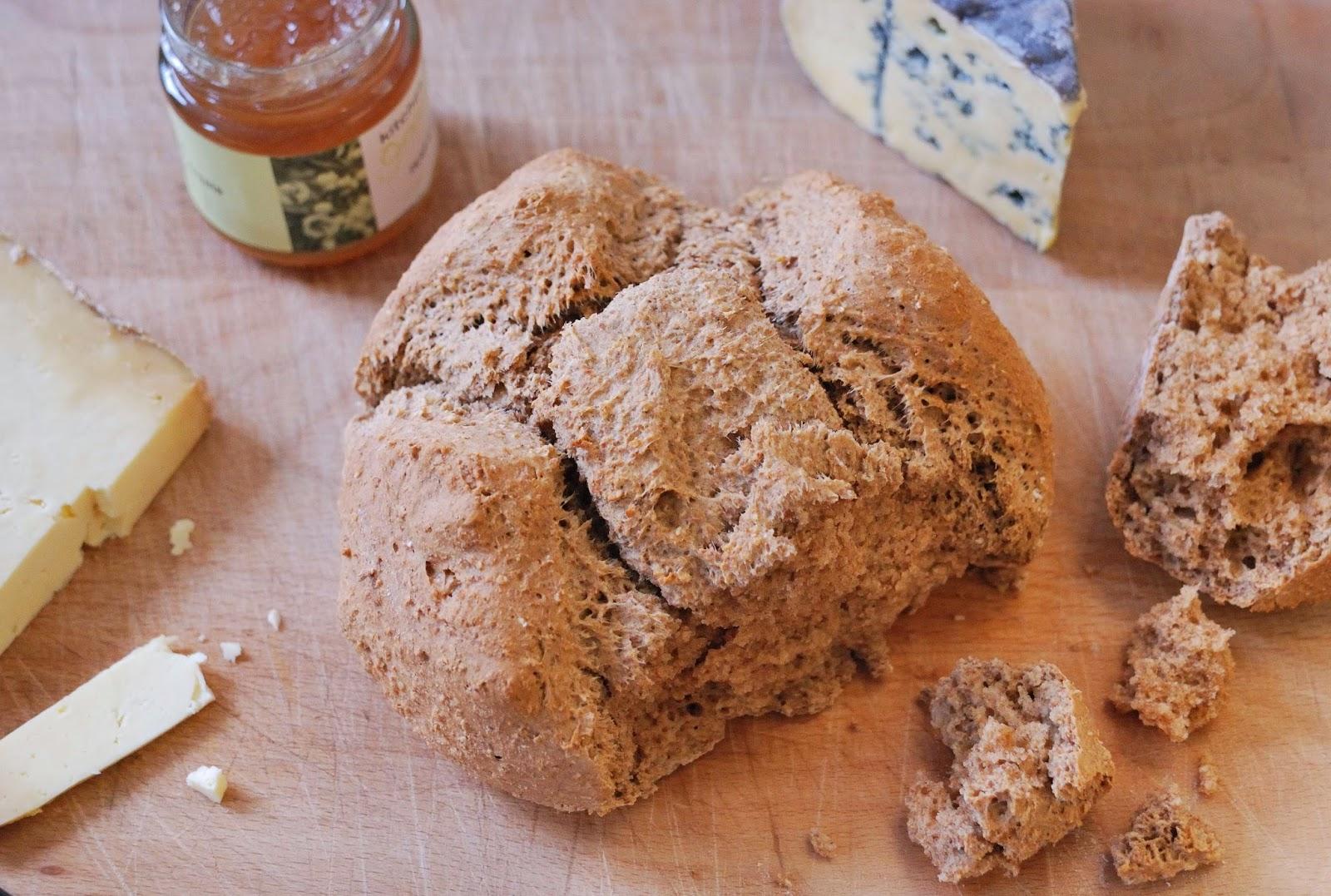 recette pain complet sans petrissage
