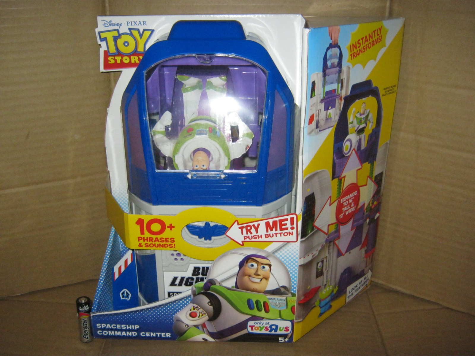 spaceship command center buzz lightyear toy story action figure