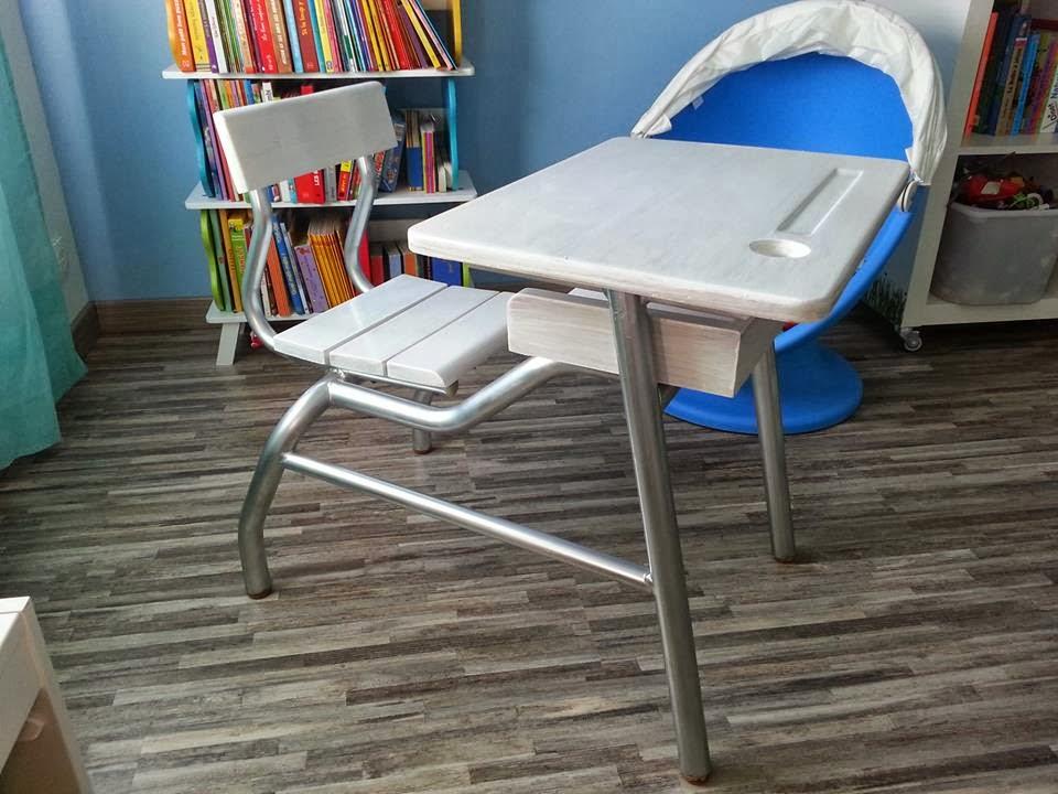 my little cr a bureau colier relook. Black Bedroom Furniture Sets. Home Design Ideas