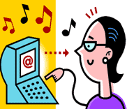 (illustration - internet radio)