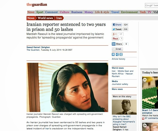 http://www.theguardian.com/world/2014/jul/08/iran-journalist-prison-lashes-propaganda-government?CMP=twt_gu