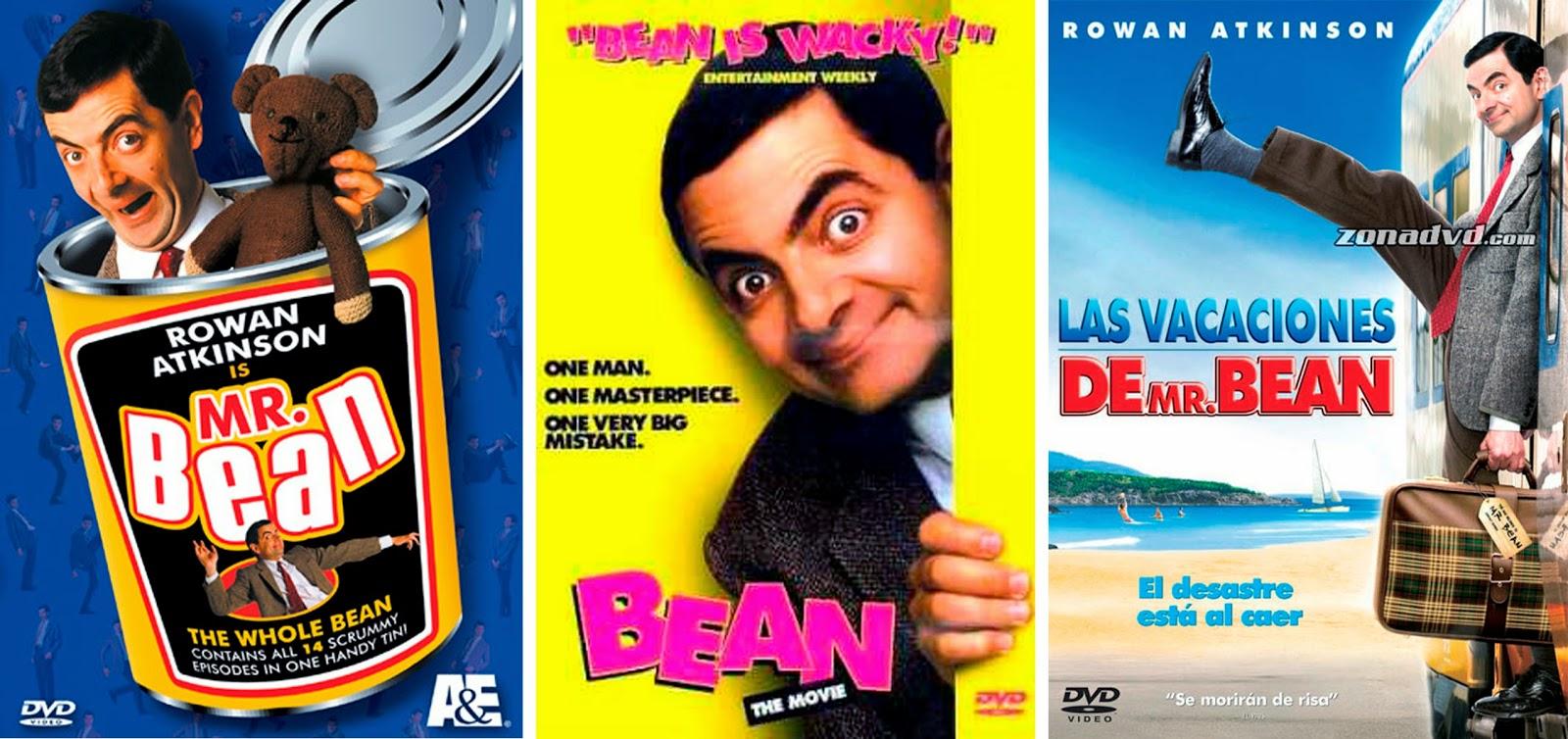 Rowan Atkinson, 'Lo último en cine catastrófico', 'Vacaciones de Mr. Bean'