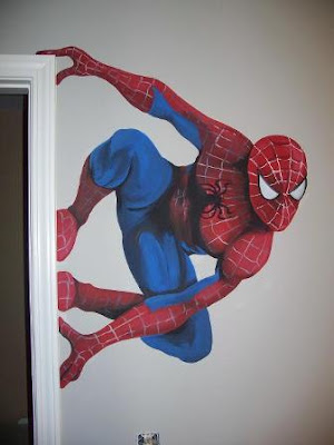 Super Hero Mural Design