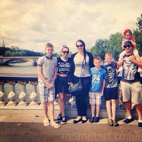 Our family in Paris