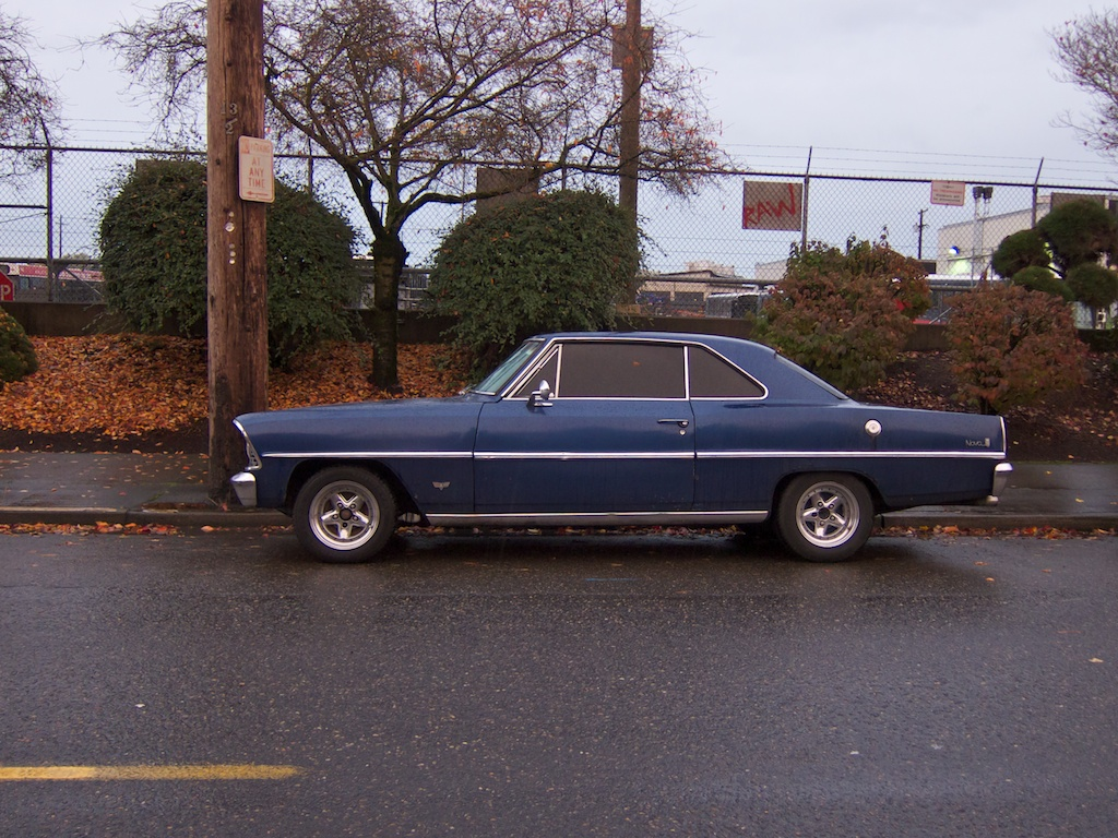 The Street Peep 1966 Chevrolet Chevy Ii Nova Coupe