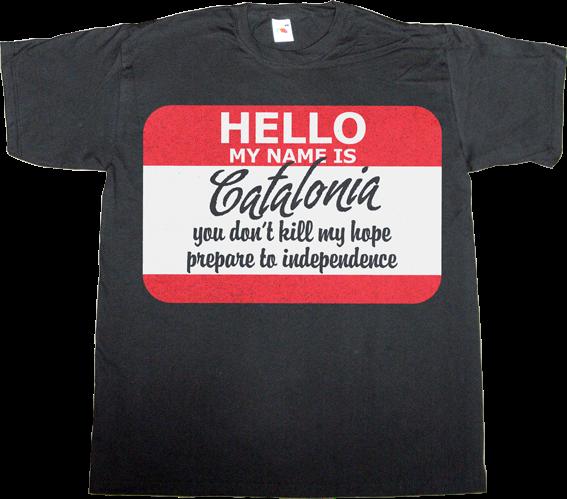 catalonia freedom independence 27-S iñigo montoya princess bride movie fun muriel casals omnium t-shirt ephemeral-t-shirts