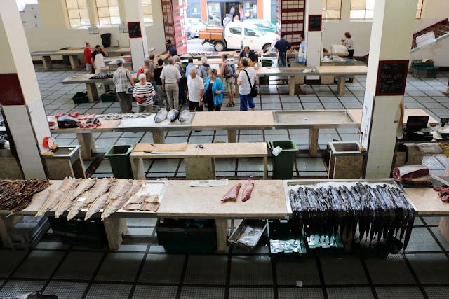 Mercado dos Lavradores, Funchal, Fischhalle
