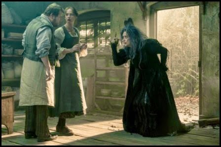 James Corden, Emily Blunt y Meryl Streep en Into the Woods (Rob Marshall, 2014)