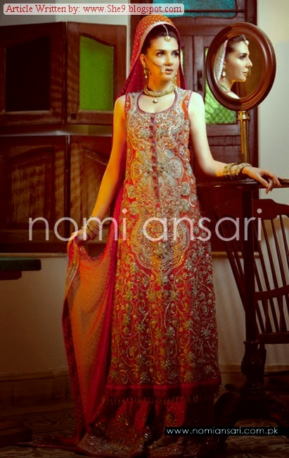 Nomi Ansari Brides Dress Collection for Wedding