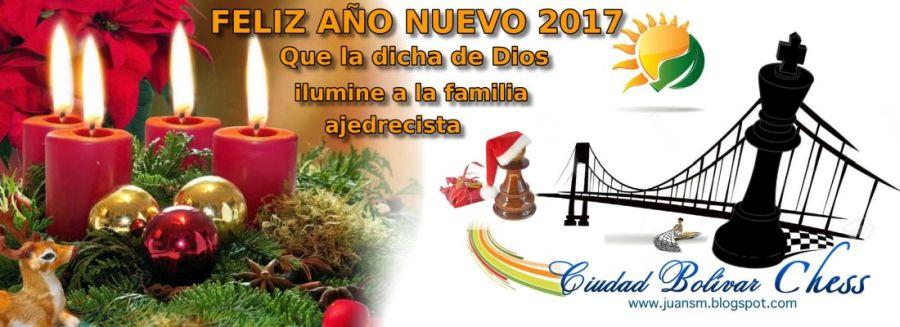 FELIZ Y VENTUROSO AÑO NUEVO 2017