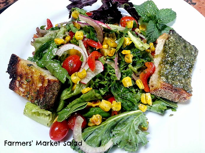 Napa Farmhouse 1885™: Farmers' Market Salad with Grilled Corn