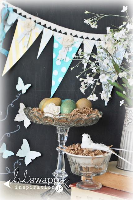 jmpgirl ~ spring home decor ~ heidi swapp
