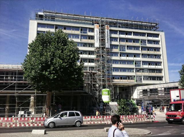 Baustelle Hotel Bikini, Budapester Straße, 10787 Berlin, 22.07.2013
